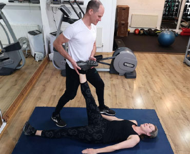 Comfortable mats to work on your flexibility